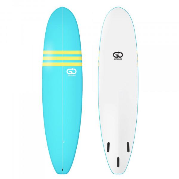 GO Softboard 7.6 Soft Top Surfboard Blau