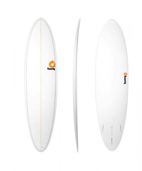 TORQ Epoxy TET 7.2 Funboard Pinlines Surfboard
