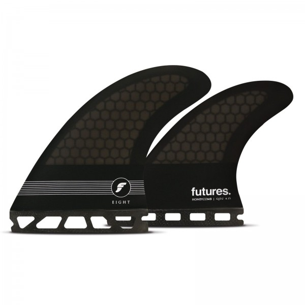 FUTURES Quad Fin Set F8 Legacy Honeycomb