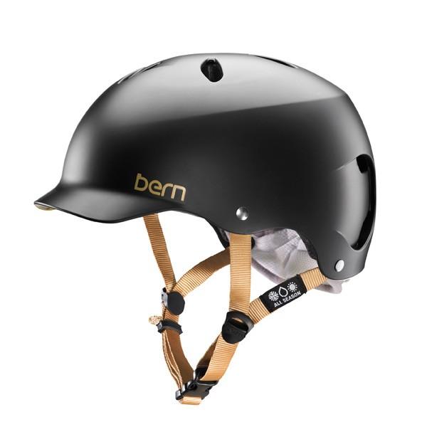 Bern Lenox H2O Helm Women satin black
