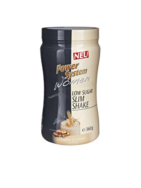 PowerSystem Women Low Sugar Slim Shake Cookies&Cream Proteinshake