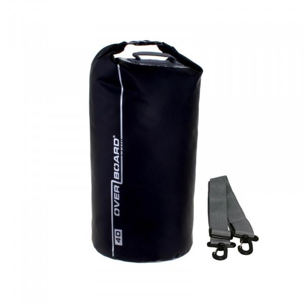 OverBoard wasserdichter Packsack 40 Liter Schwarz
