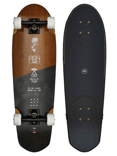 "Globe Pusher YES 8.75"" Skateboard"