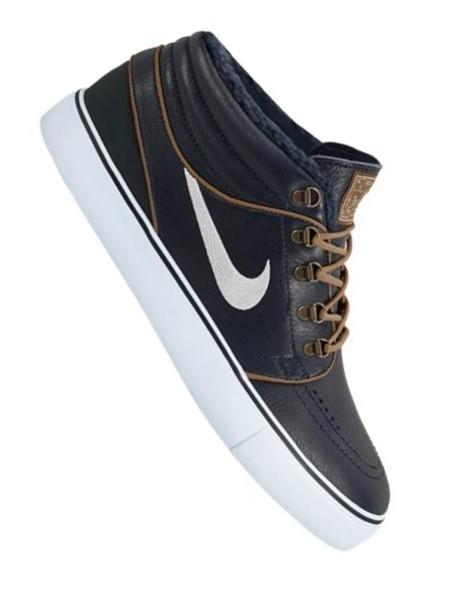 Nike SB Zoom Stefan Janoski Mid PR dark obisdian/birch - lt british tan