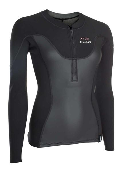 Ion Muse Neo Zip Top 1,5mm Langarm Damen Neopren Shirt