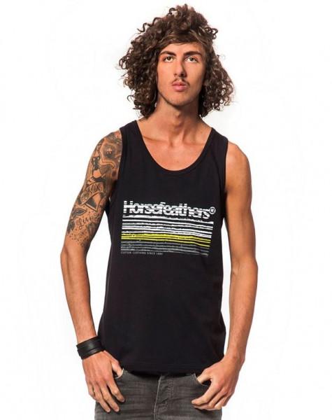 Horsefeathers Flow Tank Top black