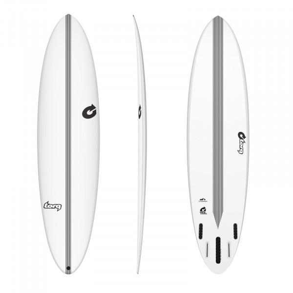 Surfboard TORQ Epoxy TEC Chopper 7.6