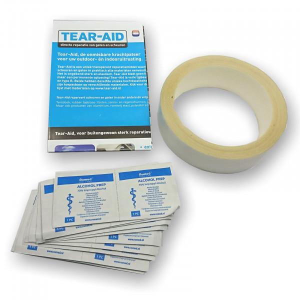 Tear-Aid Reparatur Tape Rolle 3,2cmx9m Typ A