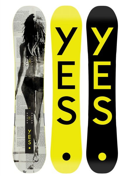 Yes Typo Snowboard 2019