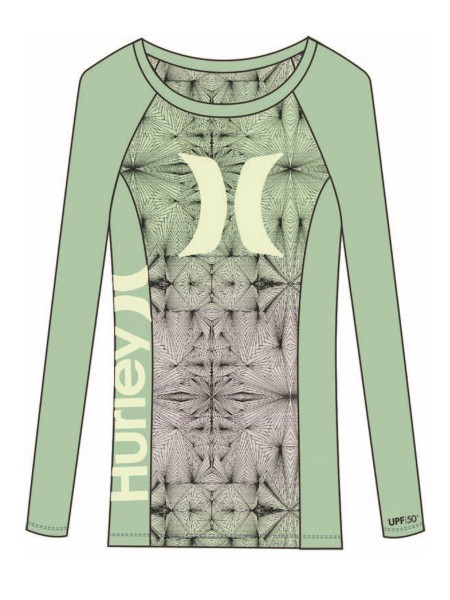 Hurley One & Only L/S Rashguard Women
