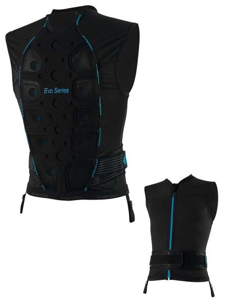 Icetools Evo Shield Men Protektorweste black/blue