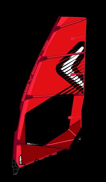 Severne S-1 rot Windsurf Segel