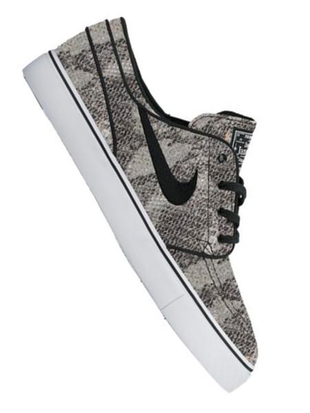 Nike SB Stefan Janoski Premium TXT black/white - green glow - black