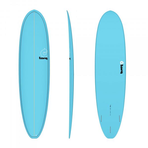 Surfboard TORQ Epoxy TET 7.8 VP Funboard Blue