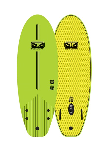"Ocean&Earth 4'0"" The Bug Mini Kinder Softboard"