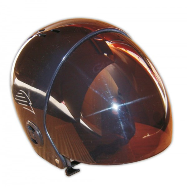 GATH Wassersport Helm Retractable Visor L Black