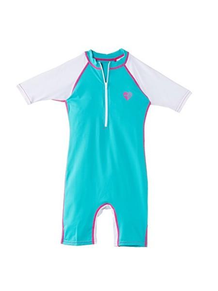 Billabong Sweet Suits SS Rashvest Kids aquamarin