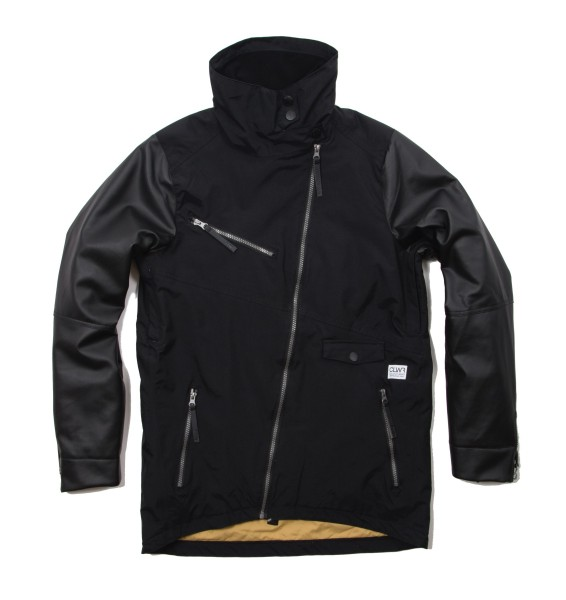Colour Wear Slash Snow Jacket Women black