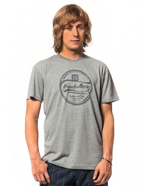 Horsefeathers Rave T-Shirt heather grey