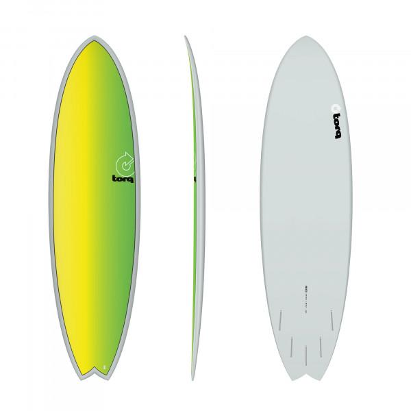 Surfboard TORQ Epoxy TET 6.10 Fish Full Fade