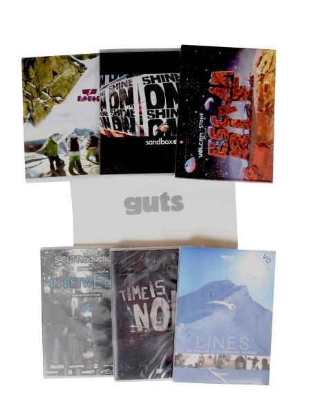 Funsport.de MEGA Snowboard 7er DVD Pack