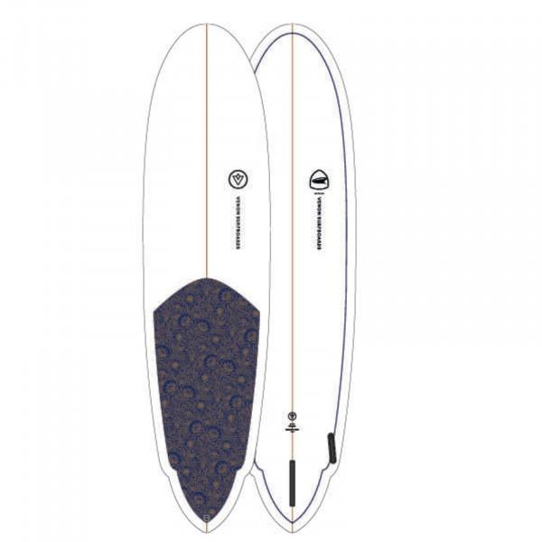 Surfboard VENON Zeppelin 8.0 fabric
