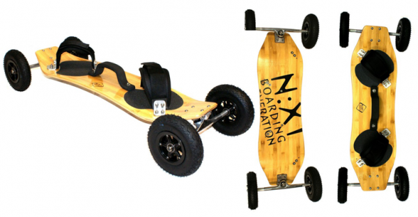 NEXT Bamboo Mountainboard komplett N:XT KLB