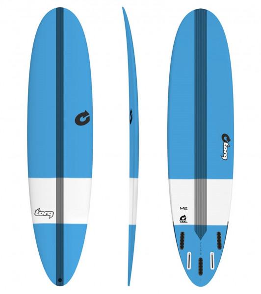 TORQ Epoxy TEC M2 8.0 tint blue Surfboard