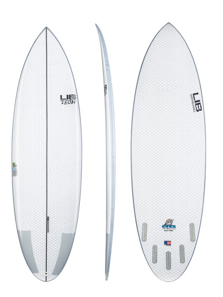 "Lib Tech Nude Bowl 6'3"" Surfboard"
