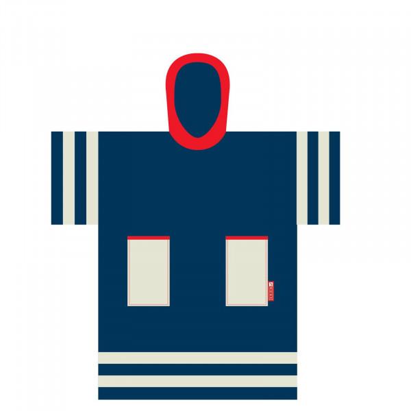MADNESS Change Robe Poncho Kindergröße Mariner