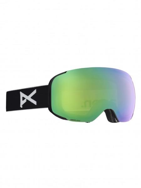 Anon M2 MFI Snowboardbrille + Facemask + Zweitglas 2019