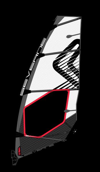 Severne S-1 weiß Windsurf Segel
