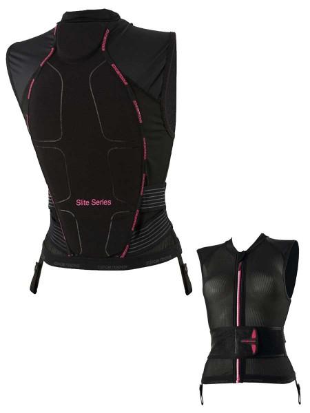Icetools S-Lite Women Protektorweste black/pink