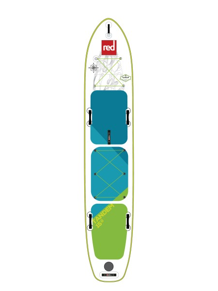 "Red Paddle 15'0"" Voyager Tandem iSUP 2019"