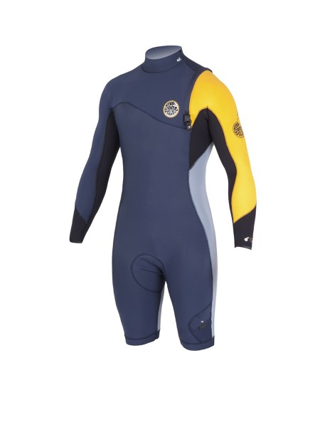 Rip Curl E Bomb 3/2 Zip Free Wetsuit slate