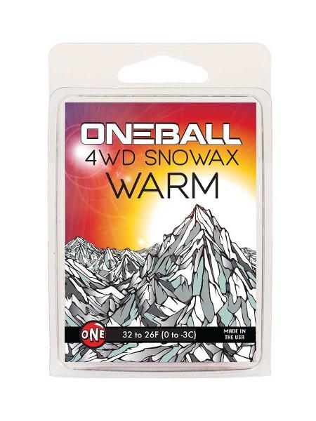 Oneball 4WD Snowboard Wachs