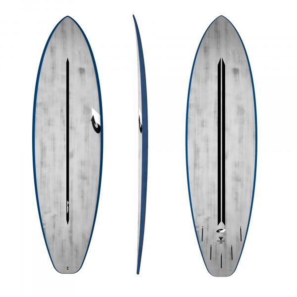 Surfboard TORQ ACT Prepreg BigBoy23 7.2 BlueRail