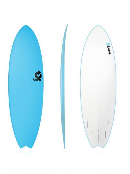"Torq Softboard 5.11"" Fish blue Sorfboard"