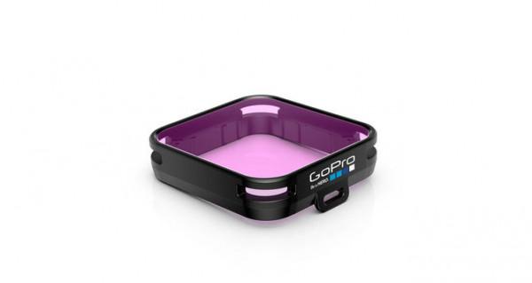 GoPro Magenta Dive Filter - Tauchfilter für Standard- und Blackoutgehäuse