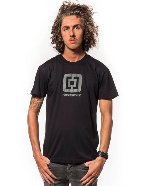Horsefeathers Fair T-Shirt black