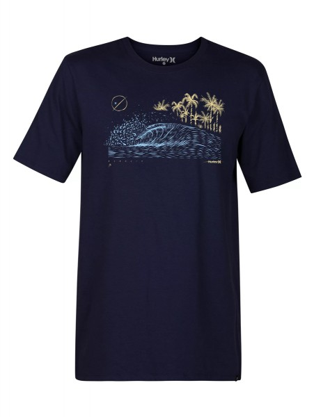 Hurley Core Rolling Wave T-Shirt