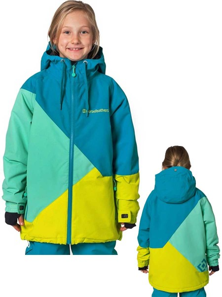 Horsefeathers Veronika Kids Snow Jacket blue