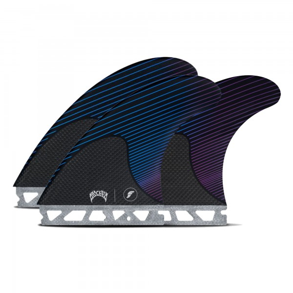 FUTURES Thruster Fin Set Mayhem L Honeycomb Carbon