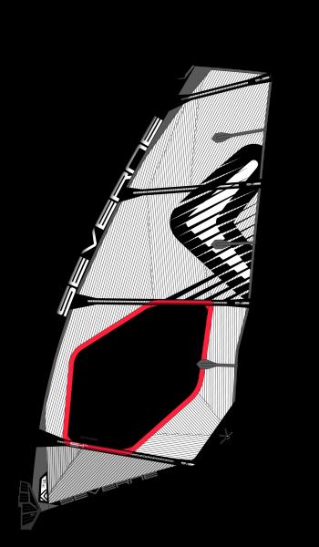 Severne S-1 Pro Windsurf Segel