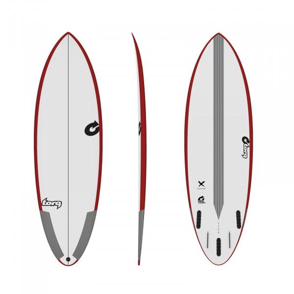 Surfboard TORQ Epoxy TEC Multiplier 6.4 Rail Rot