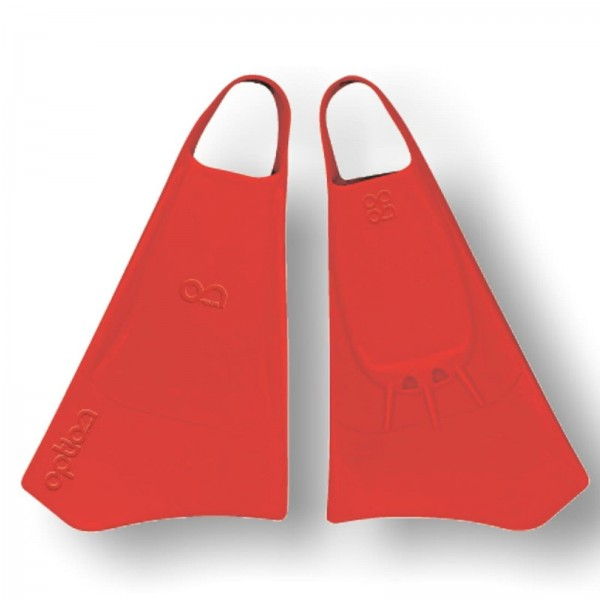 Bodyboard Flosse OPTION Gr M 40-42 Red