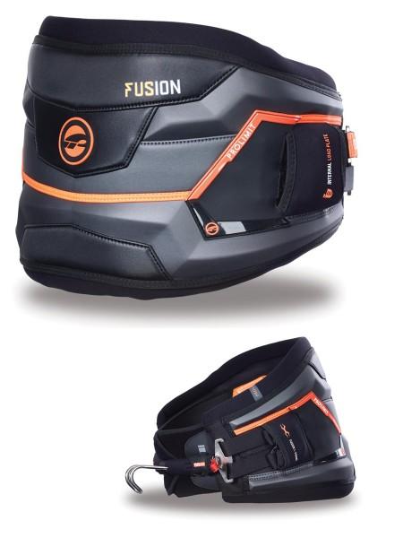 Prolimit Fusion Windsurf Hüfttrapez 2016 gunmetal/orange