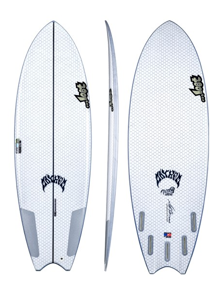 "Lib Tech Lost Puddle Fish 5'10"" Surfboard"