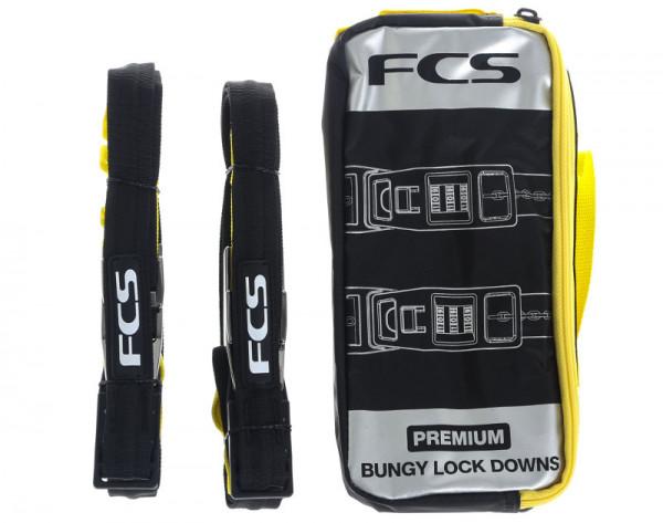 FCS Premium Bungy Lock Down Straps