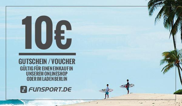 Funsport.de Geschenk-Gutschein - 10,- EUR